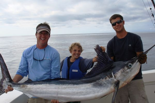 102-POUND WHITE MARLIN