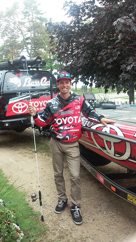 Mike Iaconelli is the only angler to win the Bassmaster Classic, Bassmaster Angler of the Year and B.A.S.S. National Championship.