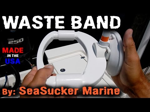 How To: Use the Waste Band by SeaSucker Marine