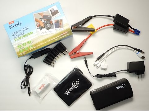 Weego: Jump Starter Battery Pack+ Heavy Duty