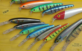 Fishing meets technology in perfect harmony fishing mobile for Different types of fishing lures