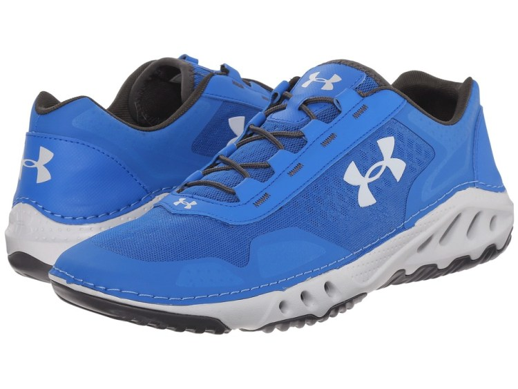 Review new boating fishing shoe by under armour for Bass fish slippers
